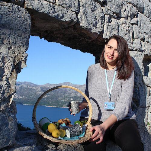 Tour Guide Rosy Ruzica Mirkovic Lopud picnic tour (1)