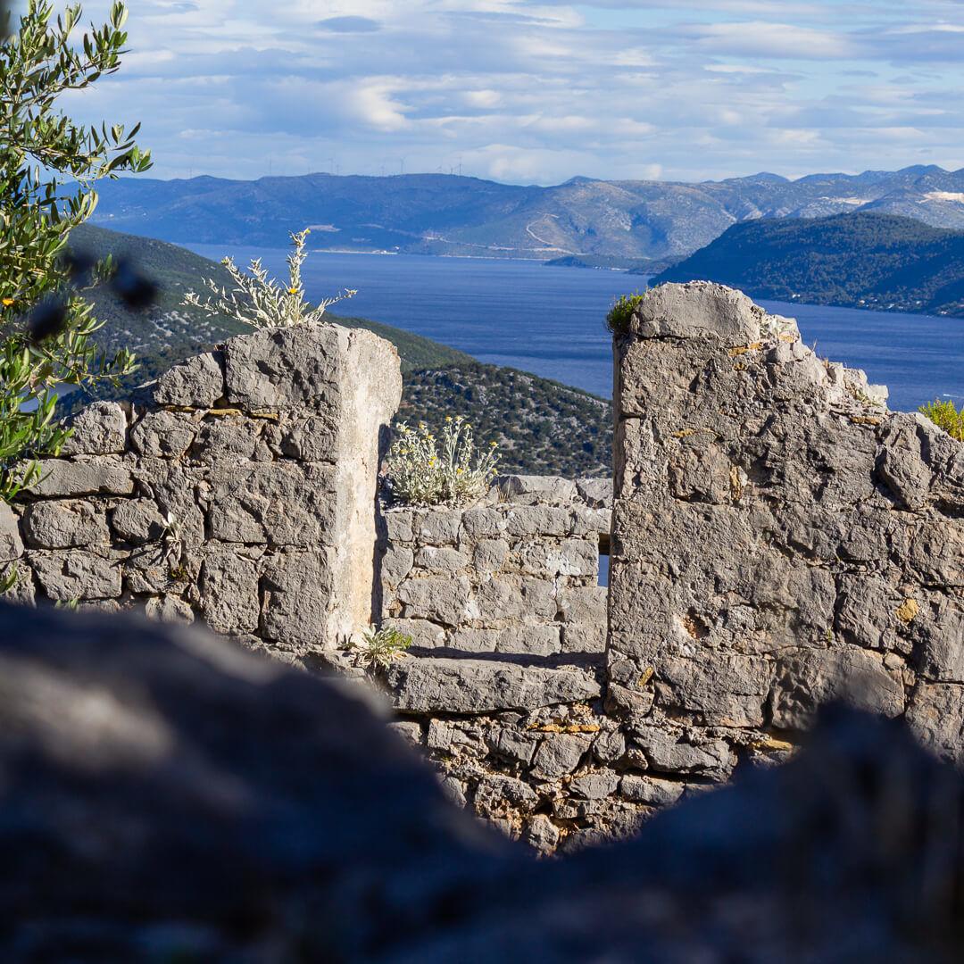 Lopud_fortress_Sutvarac_Kastio