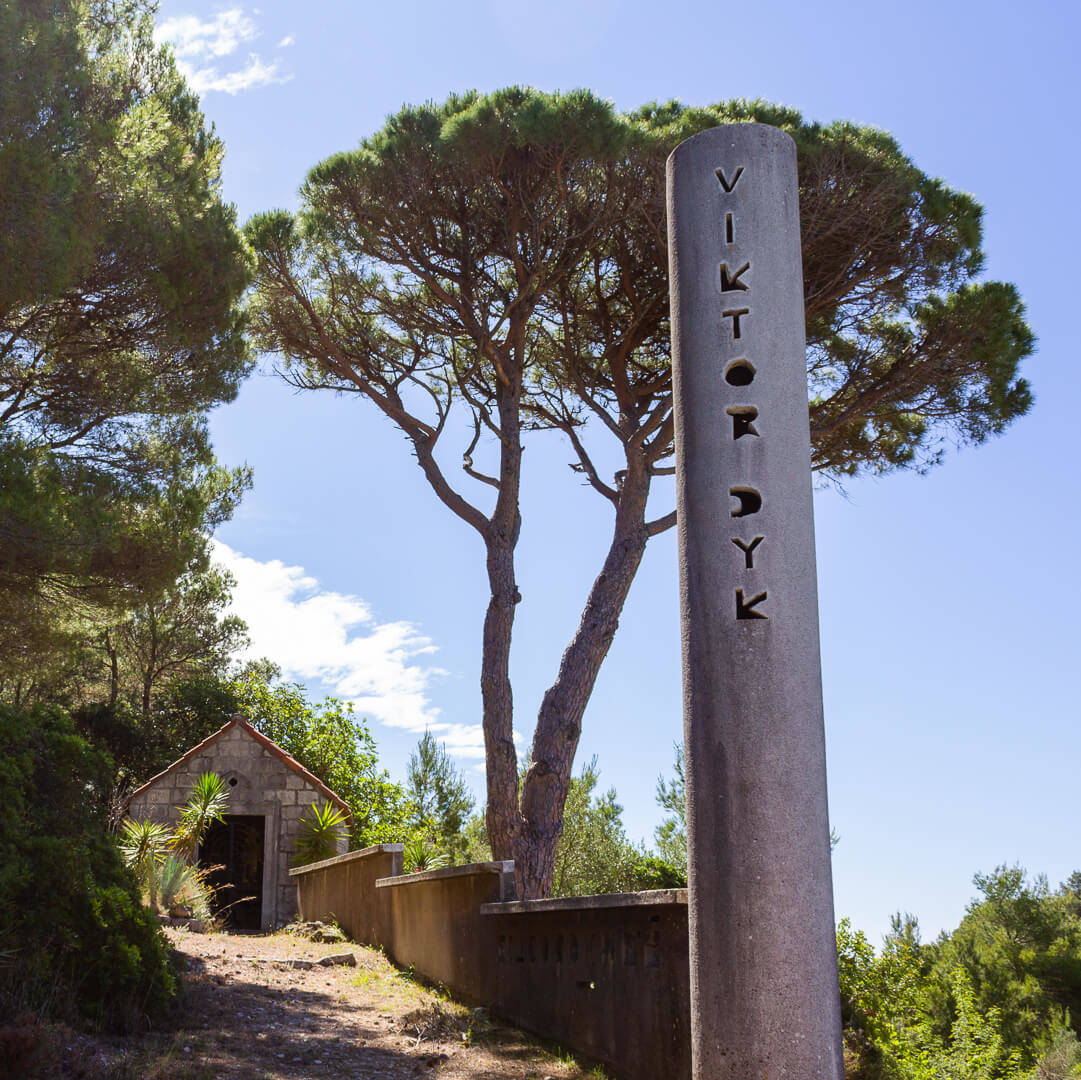 The Vyctor Monument Lopud Island